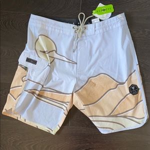 Vissla abstract pastel boardshort